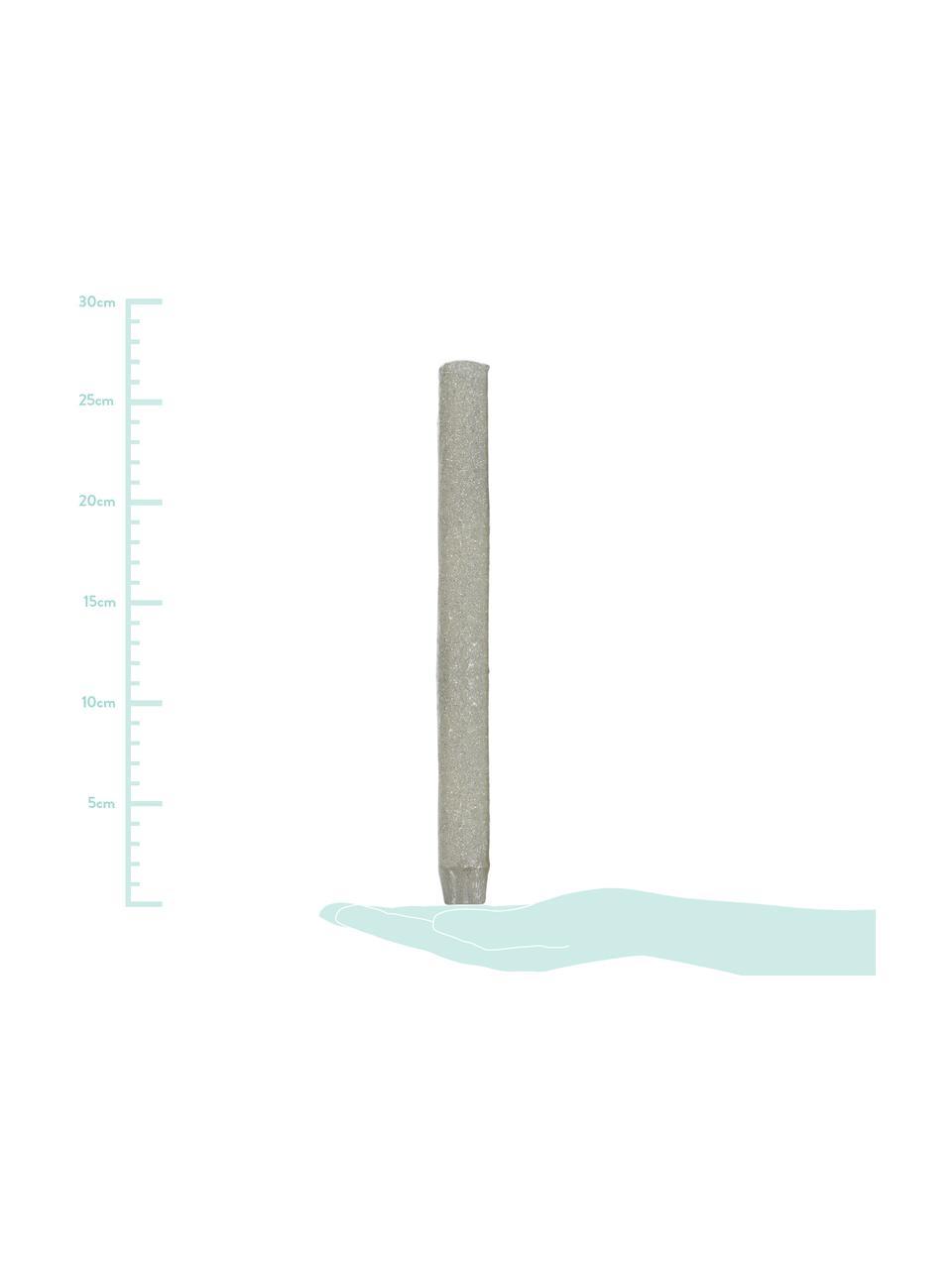 Stabkerzen Flair, 3 Stück, Wachs, Weiß, Ø 3 x H 27 cm