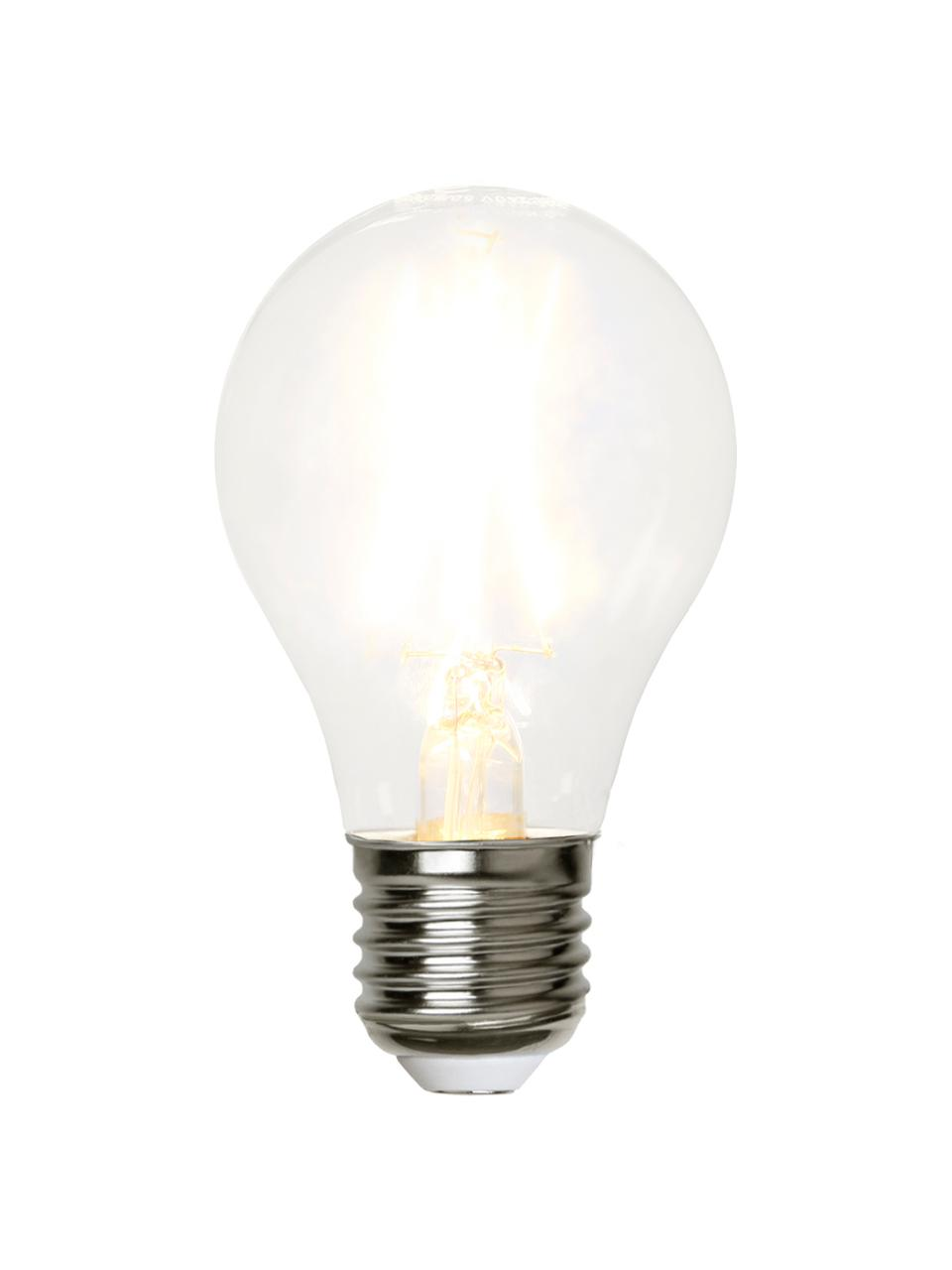 Ampoule LED (E27-2W), 5pièces, Transparent, nickel