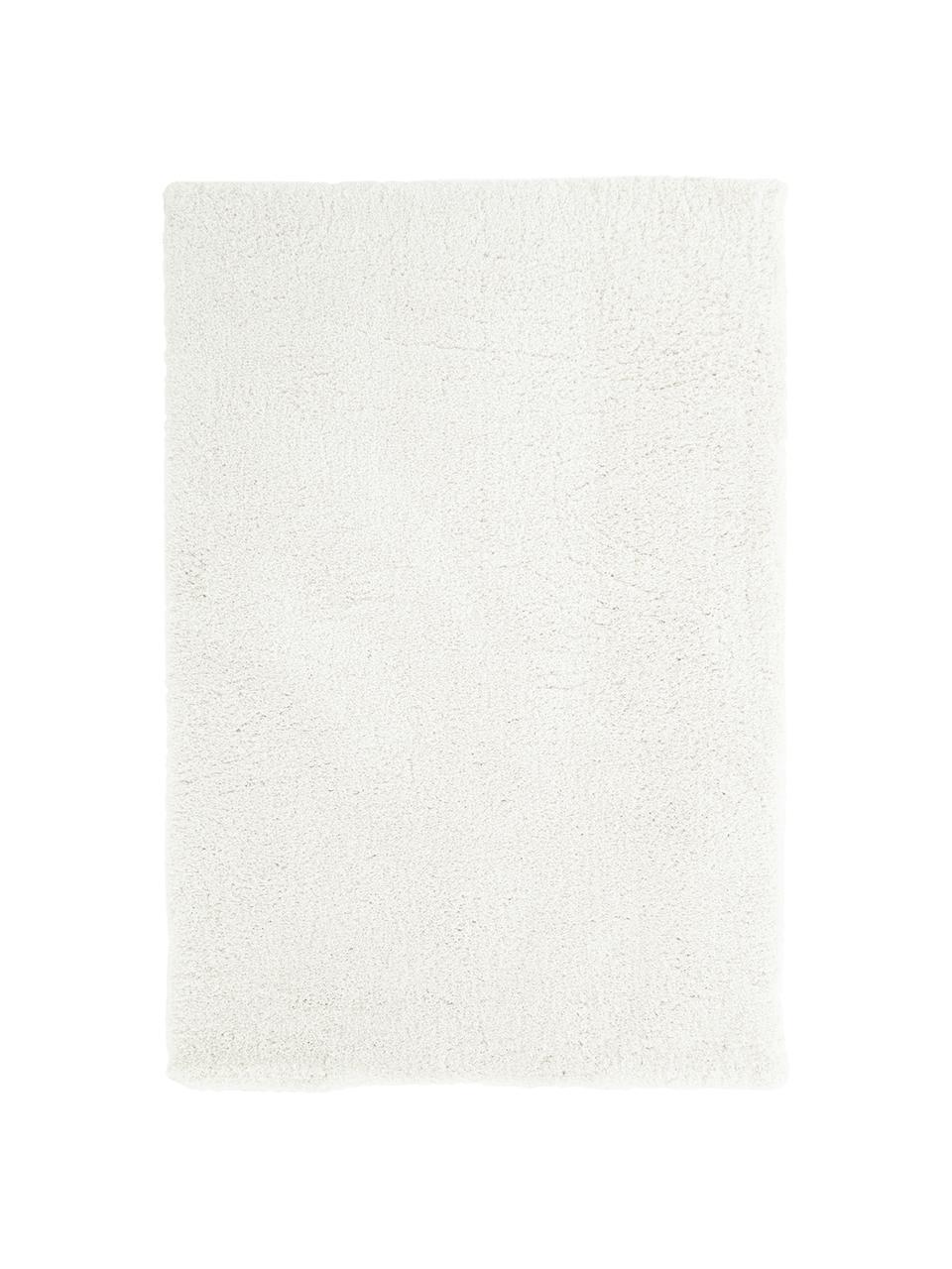 Flauschiger Hochflor-Teppich Leighton in Creme, Flor: 100% Polyester (Mikrofase, Creme, B 80 x L 150 cm (Größe XS)