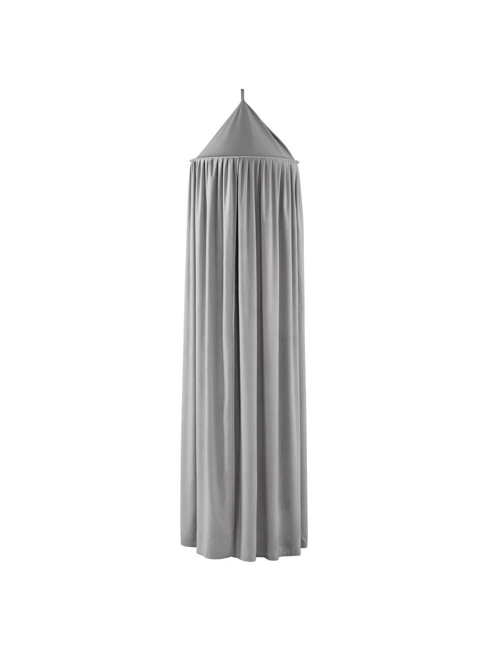 Betthimmel Savannah, Polyester., Grau, Ø 55 x 240 cm