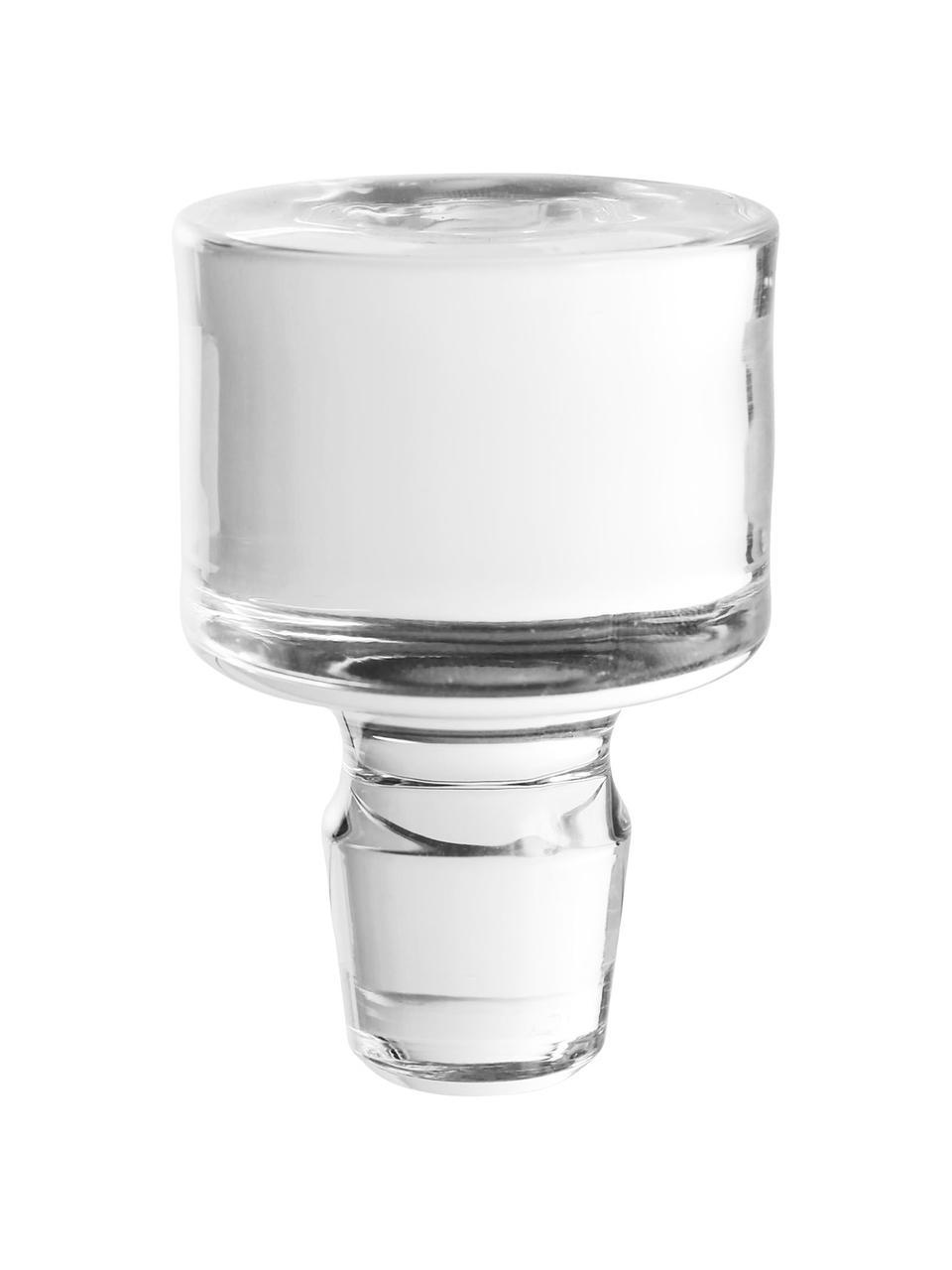 Kristall-Dekanter Fine mit Relief, 860 ml, Kristallglas, Transparent, H 22 cm