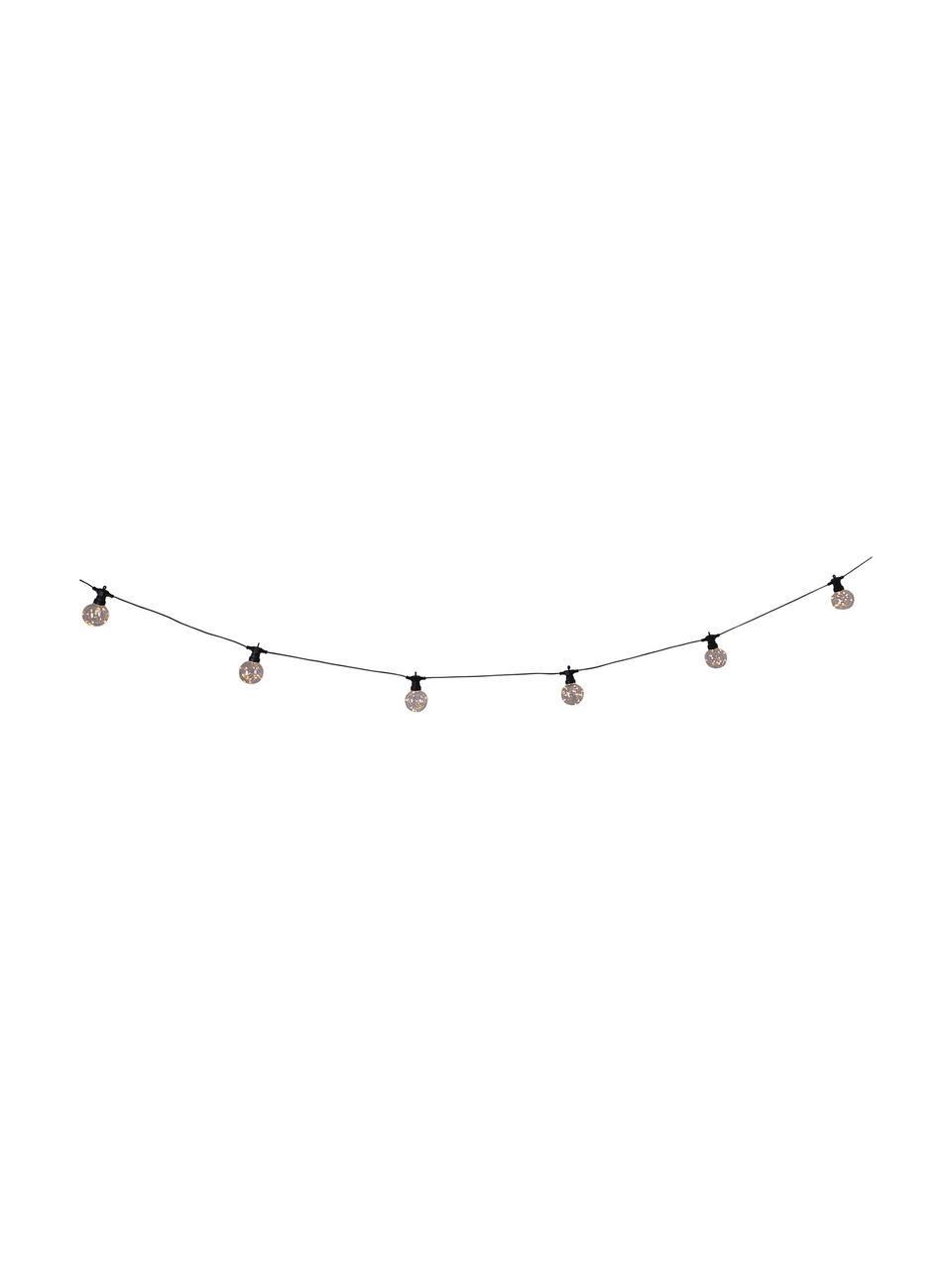 LED-Lichterkette Crackle Chain, 750 cm, Kunststoff, Transparent, L 750 cm