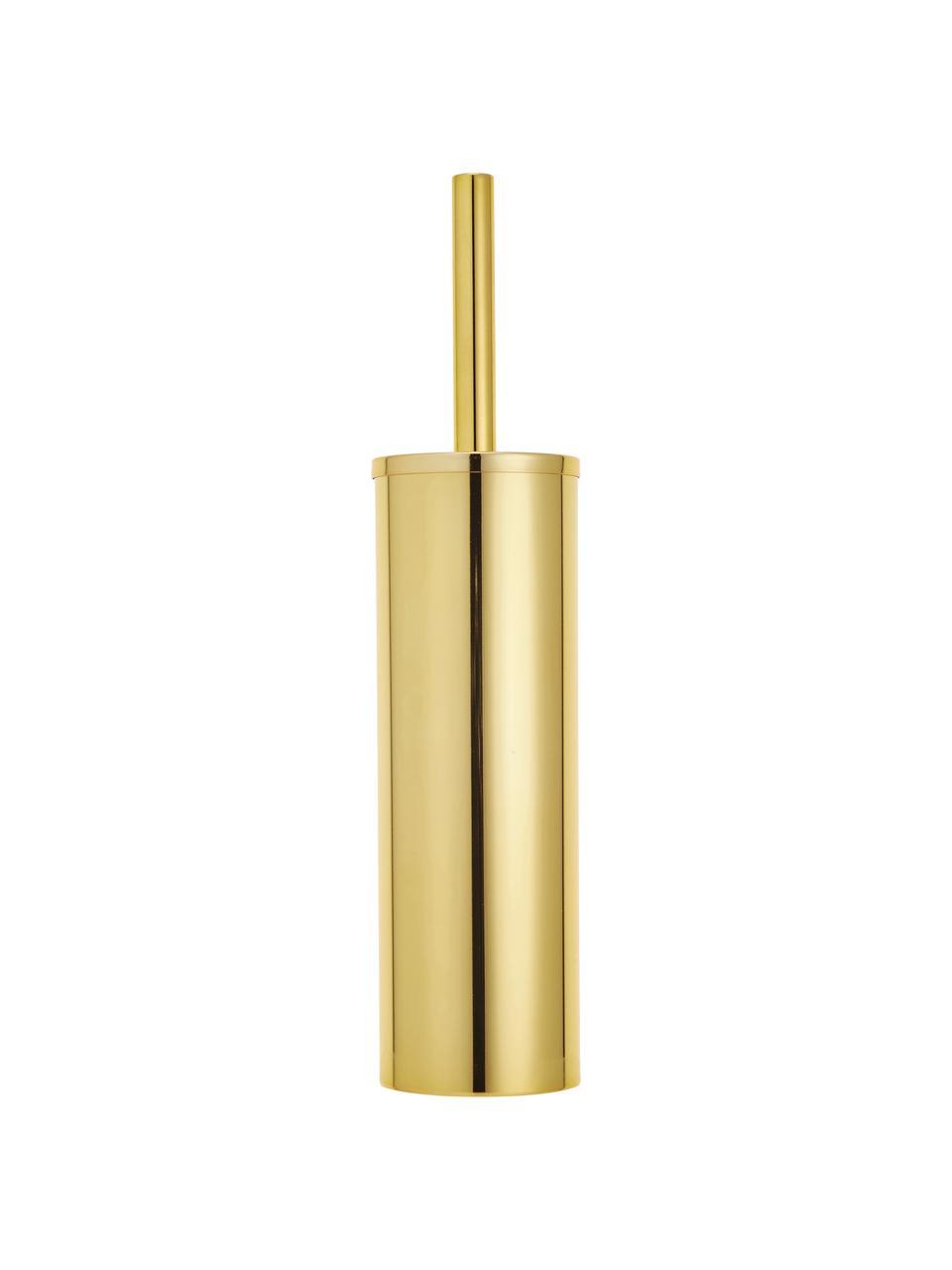 Szczotka toaletowa Classic, Metal, lakierowany, Złoty, Ø 9 x 40 cm