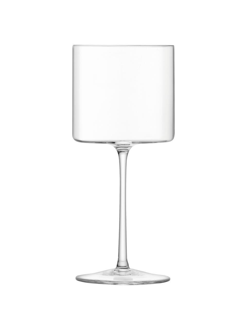 Filigrane Weingläser Otis, 4 Stück, Glas, Transparent, Ø 8 x H 19 cm