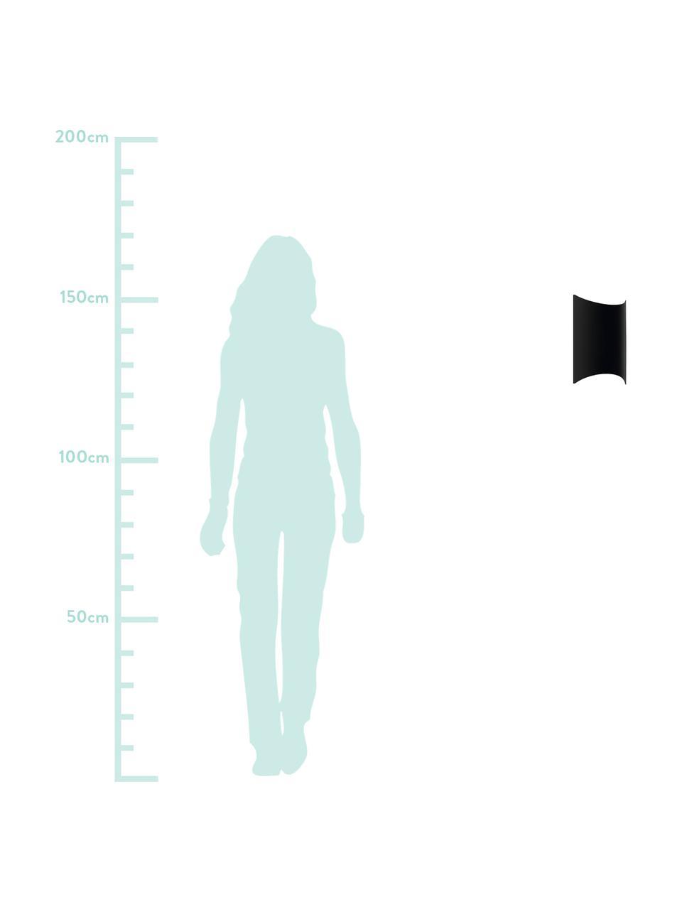 Zewnętrzny kinkiet LED Lagasco, Stal, ocynkowana, Czarny, S 19 x W 28 cm