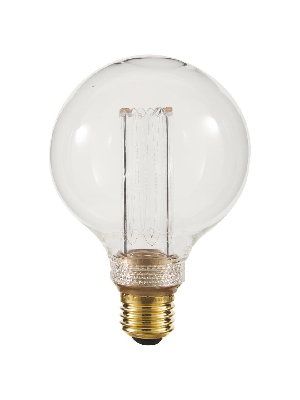 Grande ampoule (E27/2,5W) blanc chaud à intensité variable,1 pièce, Ambré