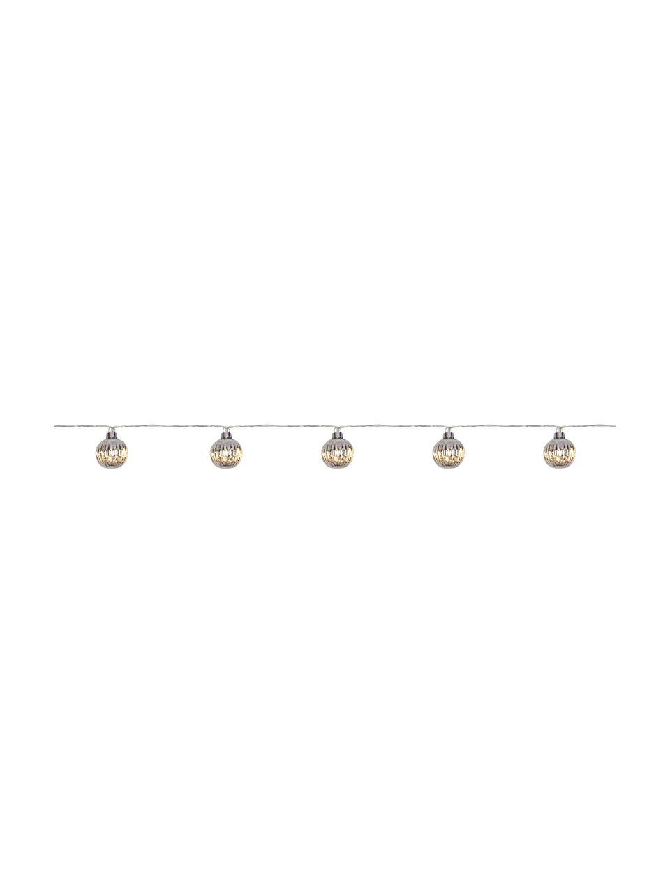 Ghirlanda a LED Solo, Paralume: vetro, Argento, L 170 x A 4 cm
