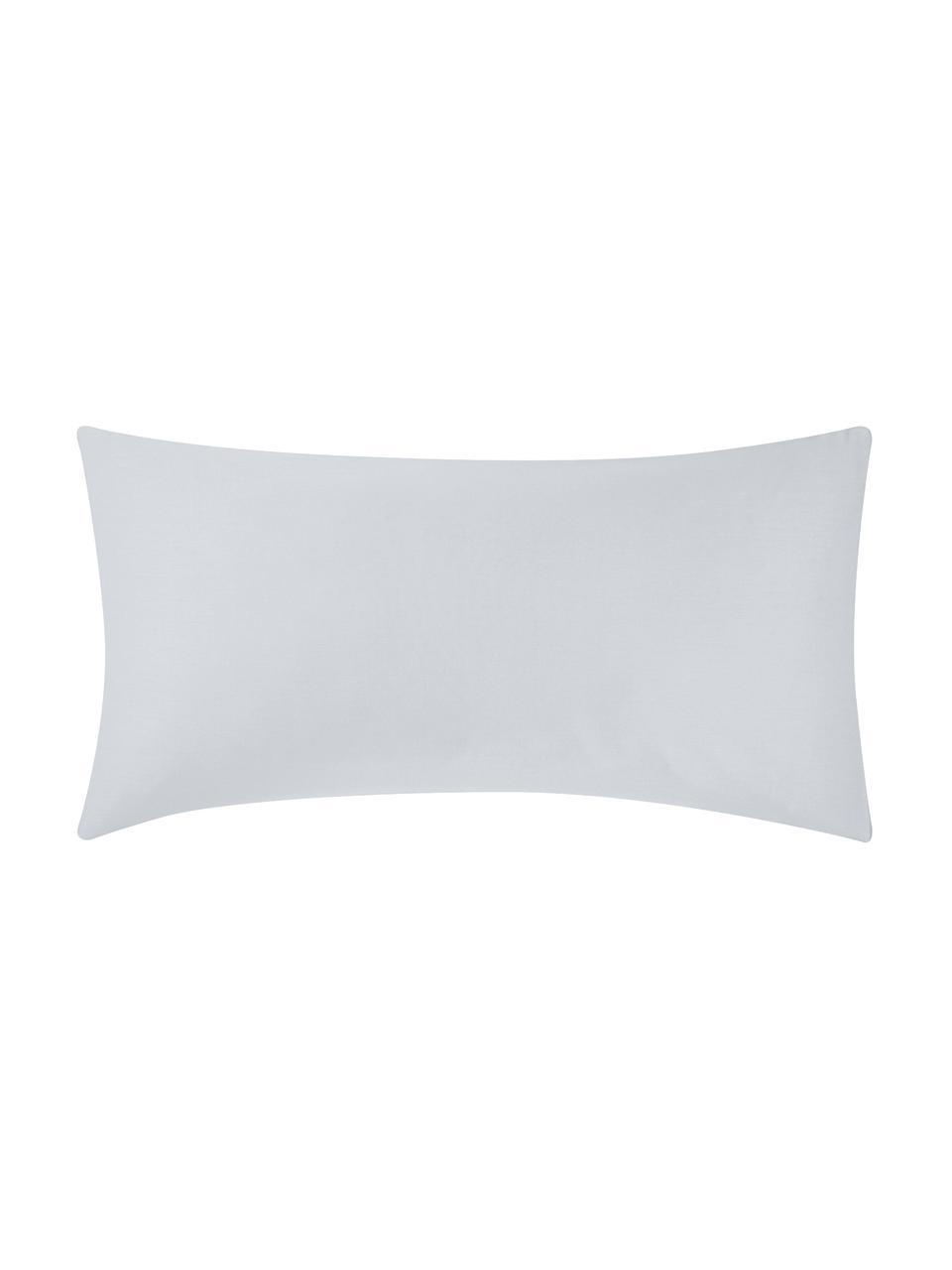 Baumwollsatin-Kissenbezüge Comfort in Hellgrau, 2 Stück, Webart: Satin Fadendichte 250 TC,, Hellgrau, 40 x 80 cm