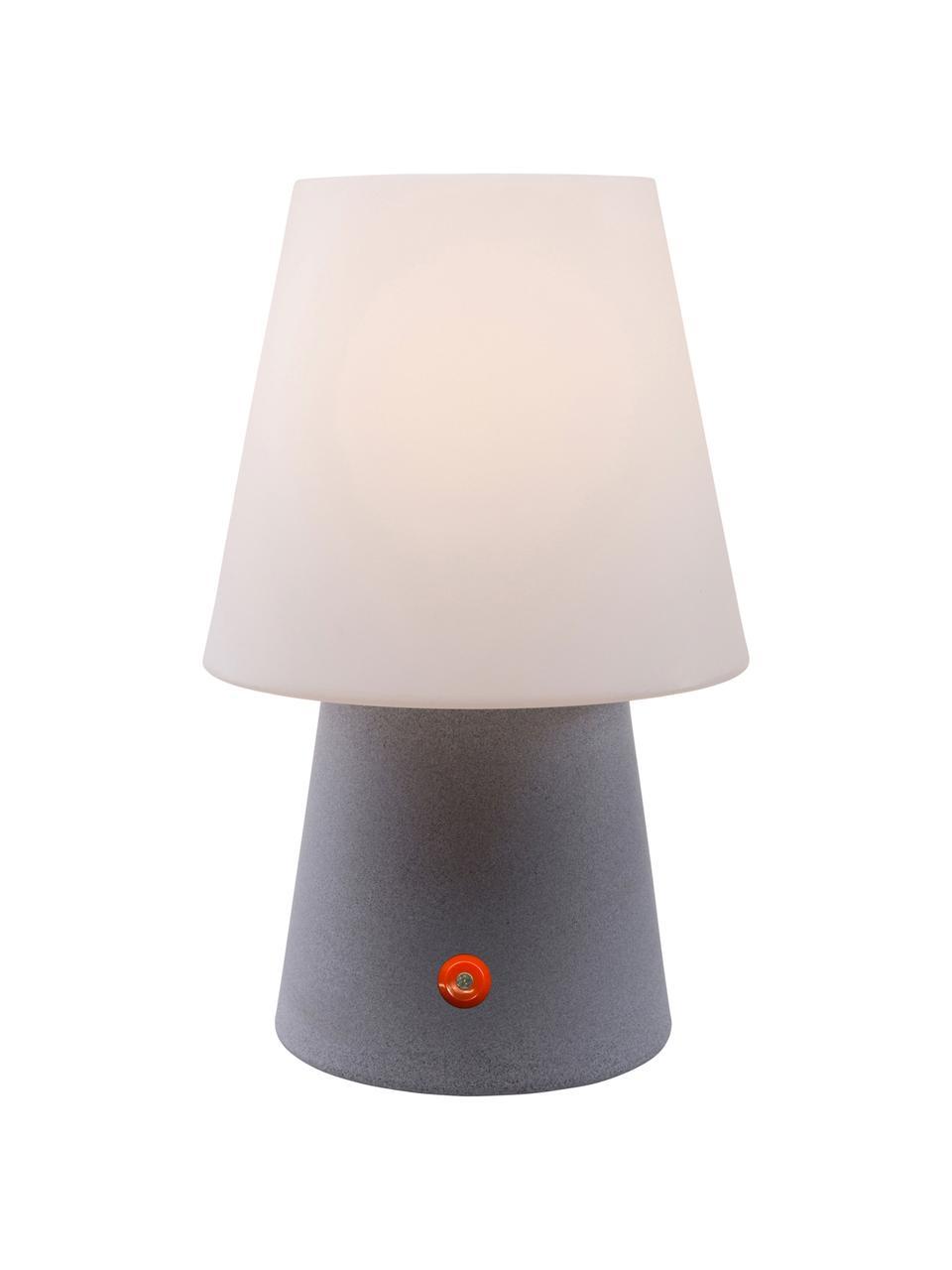 Venkovní přenosná LED lampa No. 1, Bílá, šedá