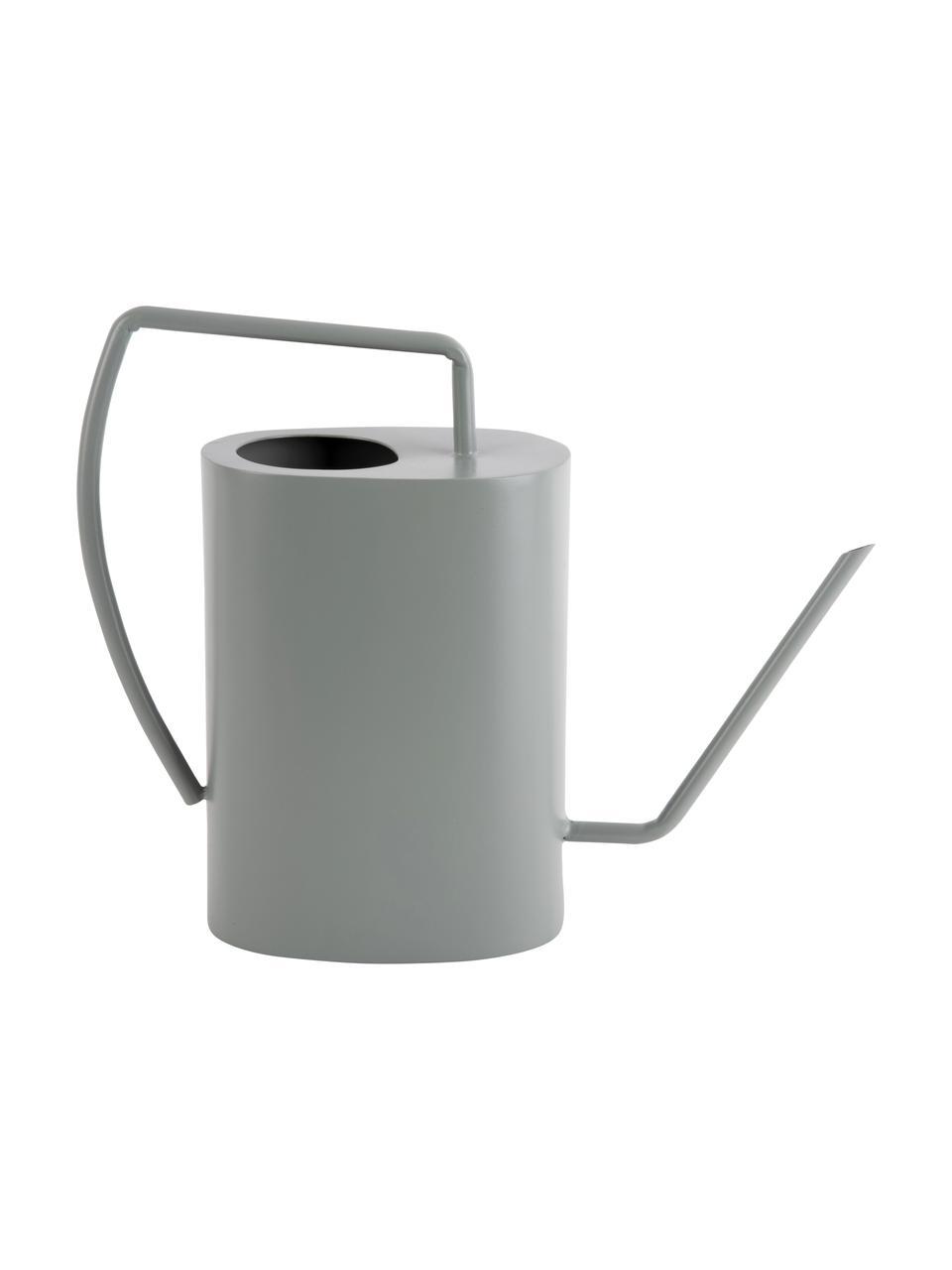 Deko-Gießkanne Grace, Metall, beschichtet, Grün, 33 x 27 cm