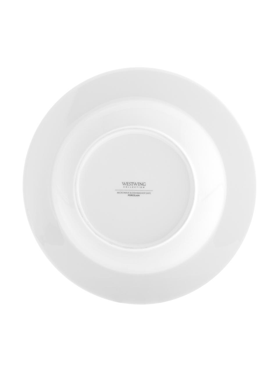 Assiette creuse porcelaine Delight Classic, 2pièces, Blanc