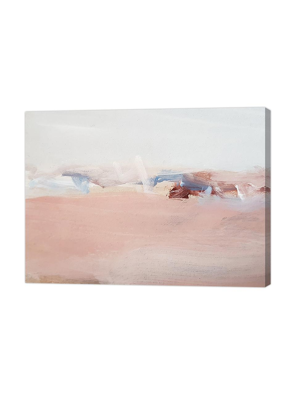 Canvasprint Abstract Modern, Afbeelding: digitale print op linnen, Multicolour, 80 x 60 cm