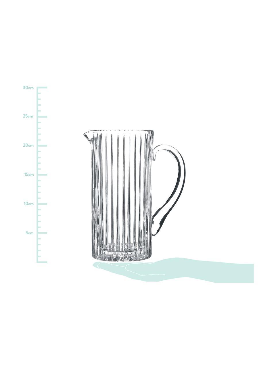 Brocca in cristallo Timeless, 1.2 L, Cristallo Luxion, Trasparente, 1.2 L