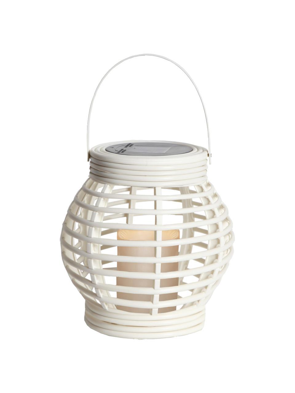 Solární LED svíčka Lantern, Bílá