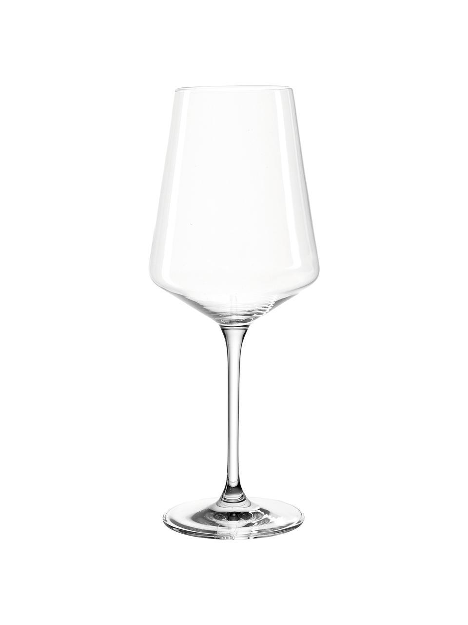 Kieliszek do białego wina Puccini, 6 szt., Szkło kryształowe, Transparentny, Ø 10 x W 24 cm