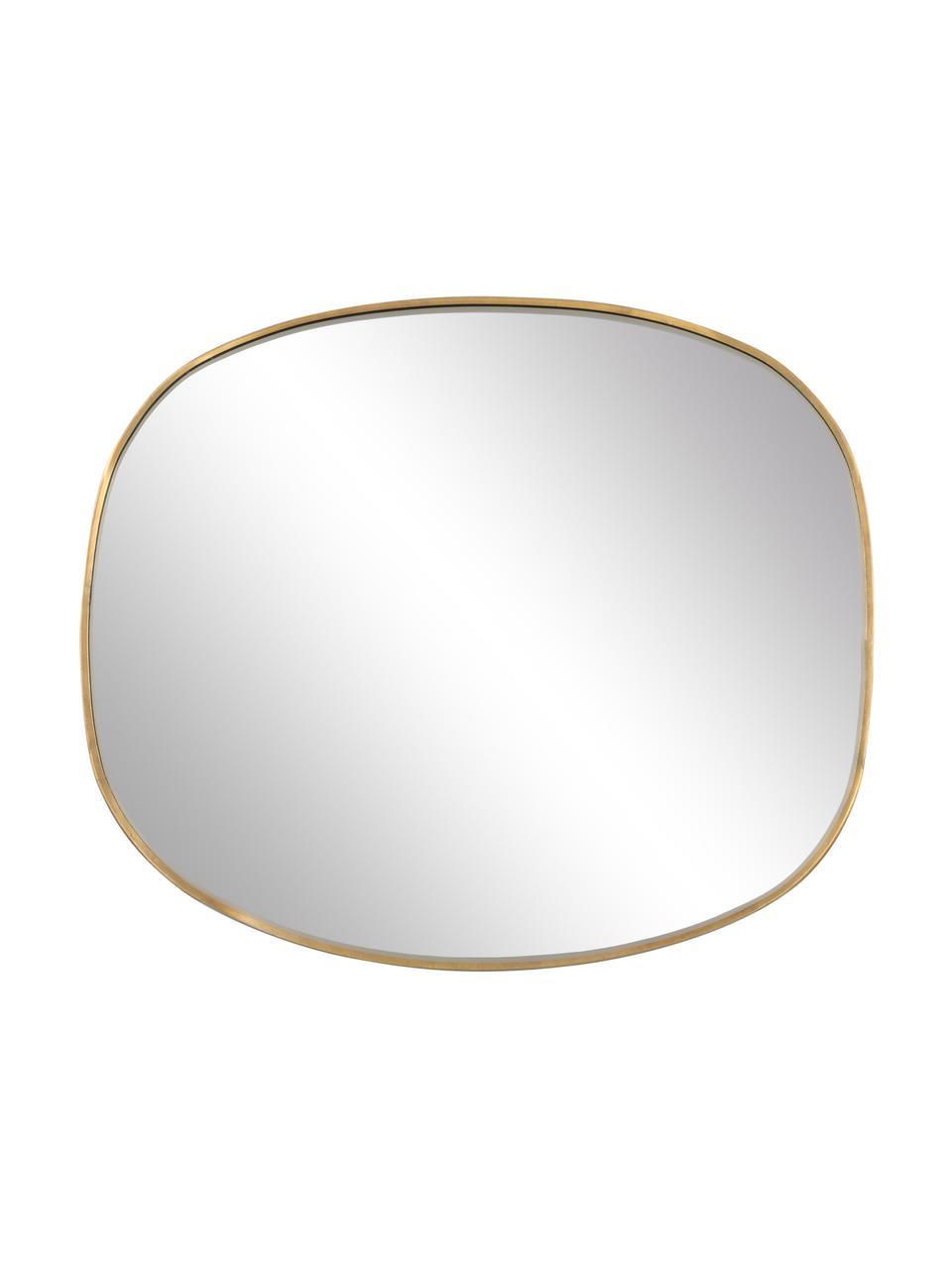 Nástěnné zrcadlo Daily Pretty, Mosazná