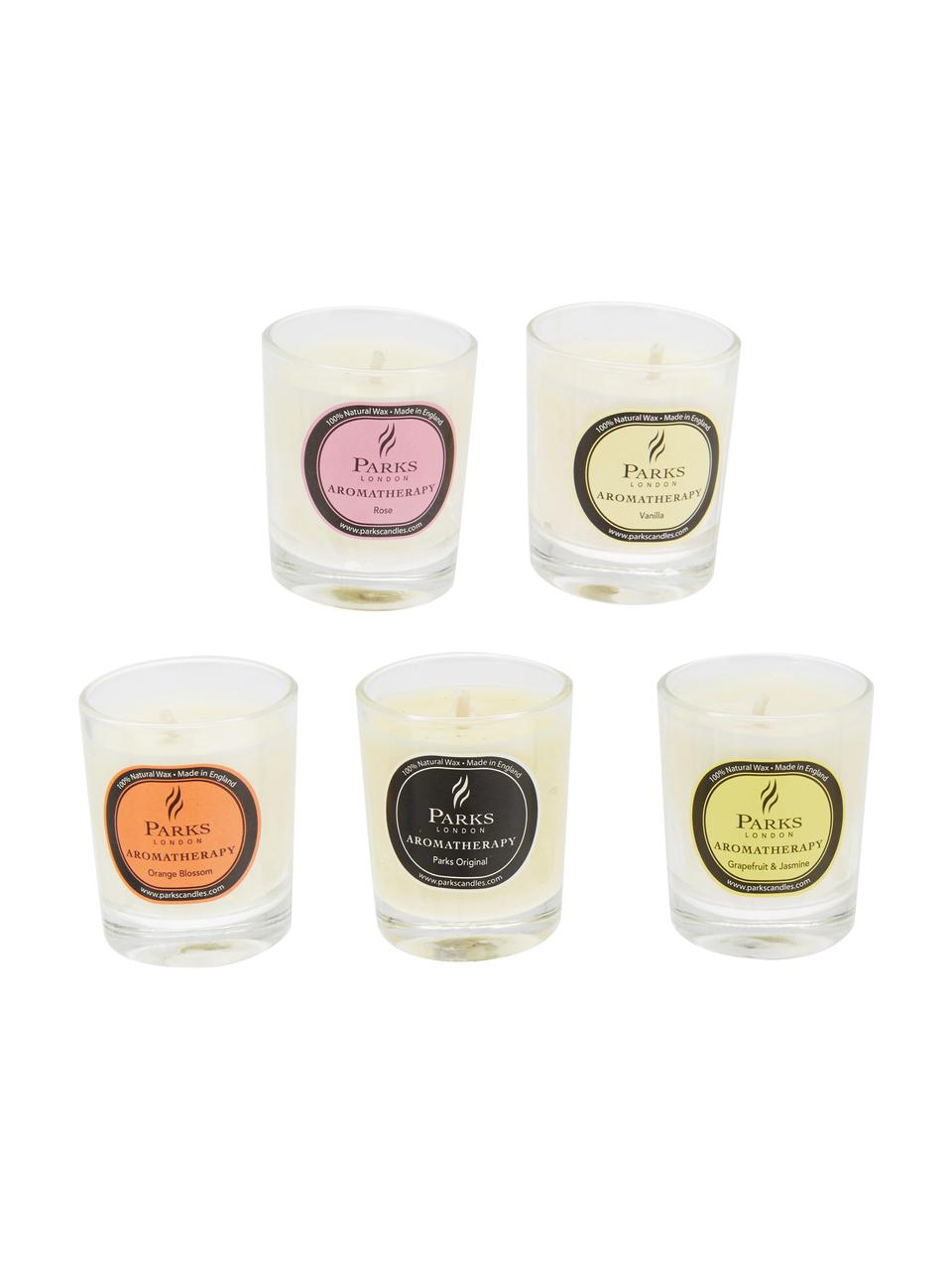 Komplet świec zapachowych Aromatherapy, 10 elem., Wielobarwny, Ø 5 x W 6 cm