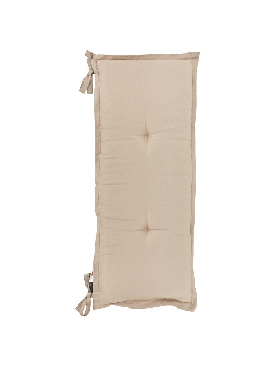Nakładka na ławkę Panama, Tapicerka: 50% bawełna, 45% polieste, Odcienie piaskowego, S 48 x D 120 cm