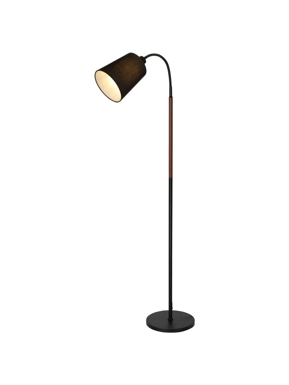 Mała lampka do czytania Ljusdal, Czarny, S 52 x W 140 cm