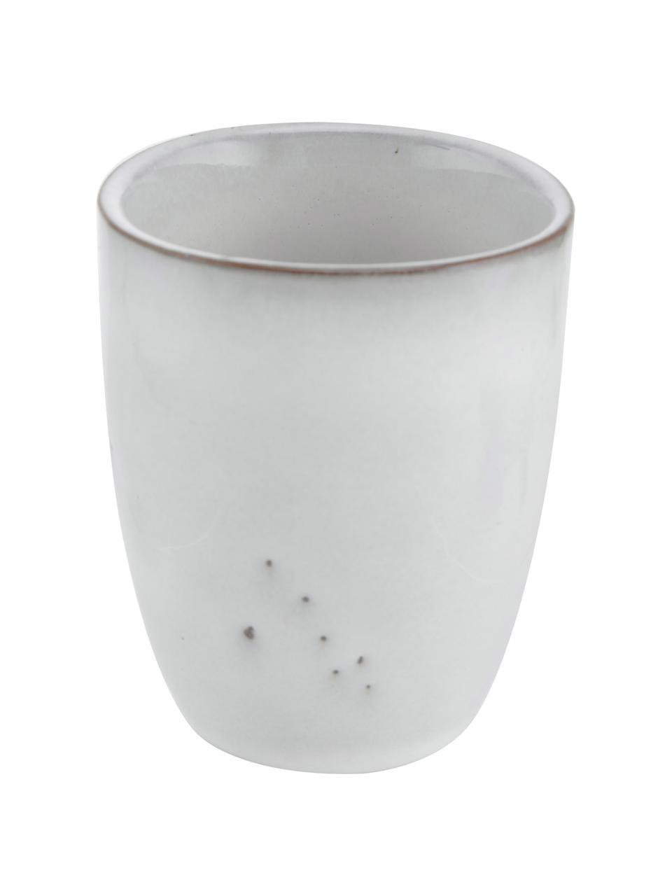 Tasses à espresso faites à la main Nordic sable, 6pièces, Sable