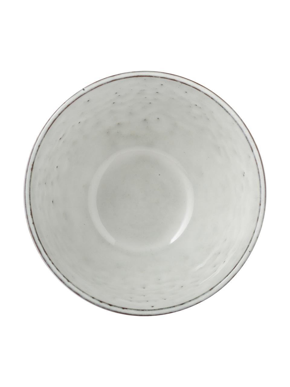 Ručně vyrobená kameninová miska Nordic Sand Ø 15 cm, 4 ks, Odstíny písku