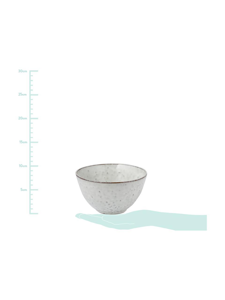 Handgemachte Schälchen Nordic Sand Ø 15 cm aus Steingut, 4 Stück, Steingut, Sandfarben, Ø 15 x H 8 cm