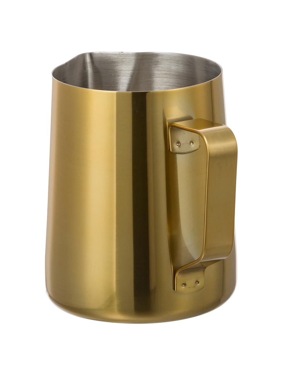Dzbanek do mleka ze stali szlachetnej Curacao, 500 ml, Odcienie złotego, Ø 9 x W 11 cm