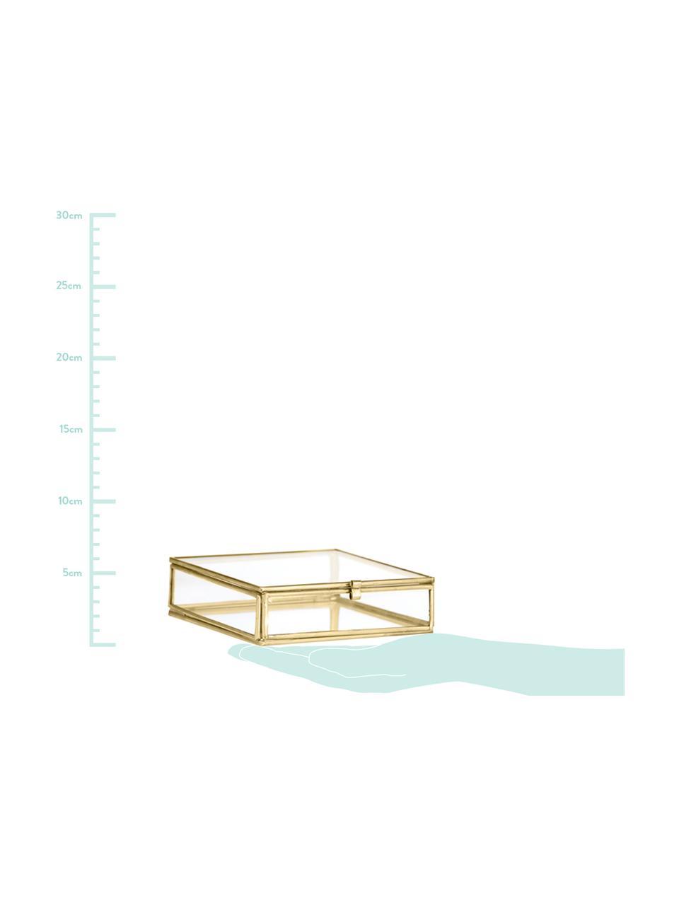 Portagioie Ivey, Struttura: metallo rivestito, Ottonato, Larg. 10 x Alt. 3 cm