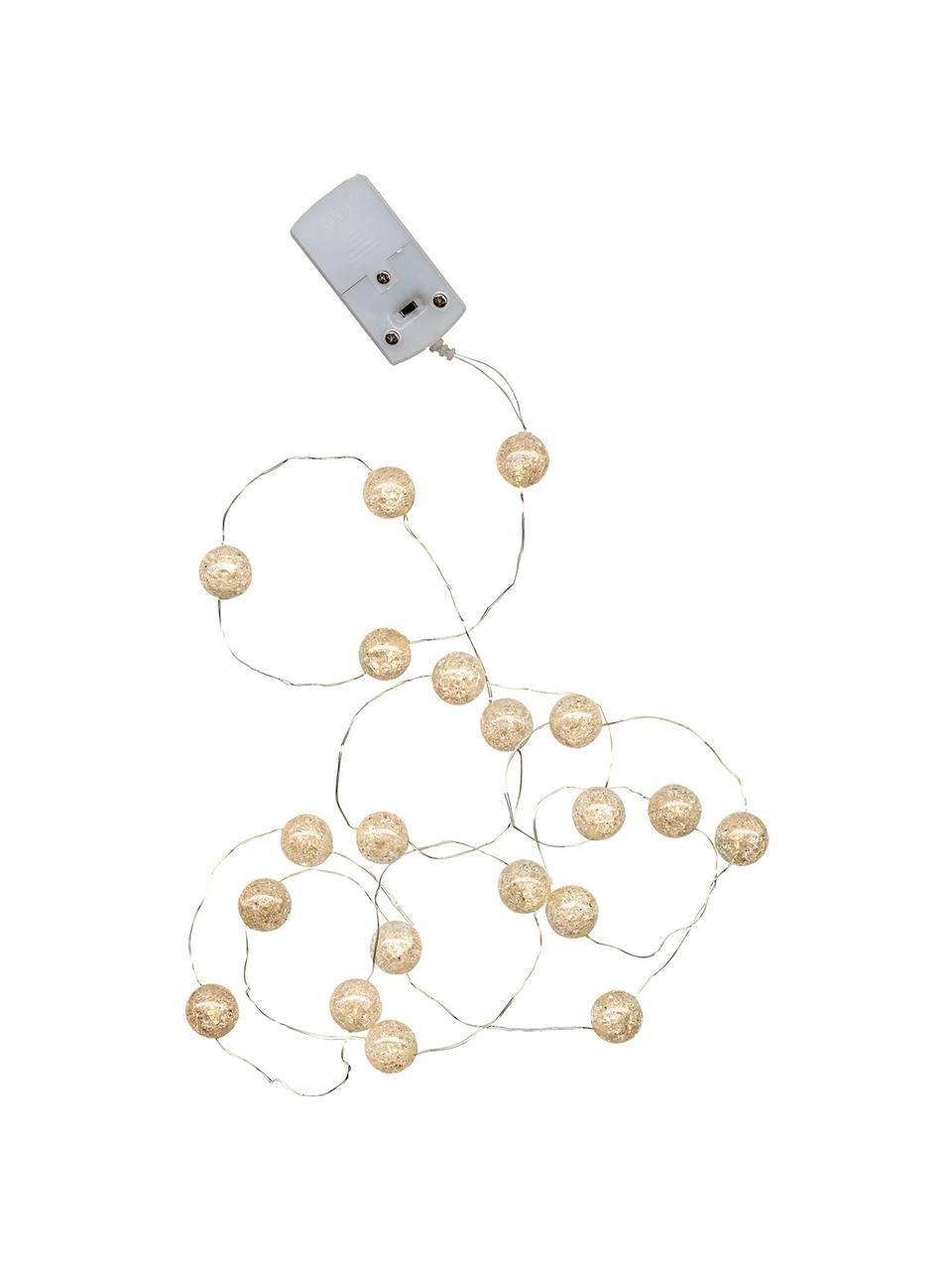 Girlanda świetlna LED Raindropl, 140 cm, Tworzywo sztuczne, Biały, D 140 cm