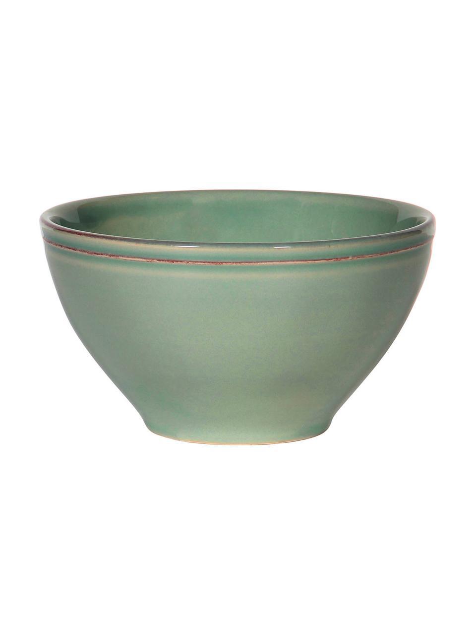 Ciotola verde salvia Constance 2 pz, Terracotta, Verde salvia, Ø 15 x Alt. 9 cm