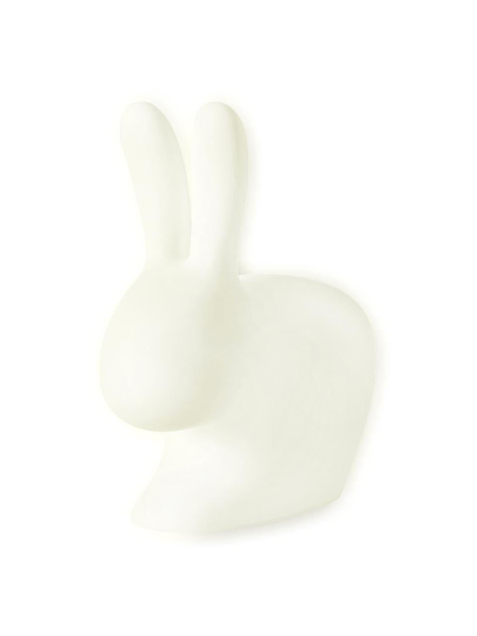 LED-Außen-Bodenleuchte Rabbit, Kunststoff (Polyethylen), Weiß, 69 x 80 cm