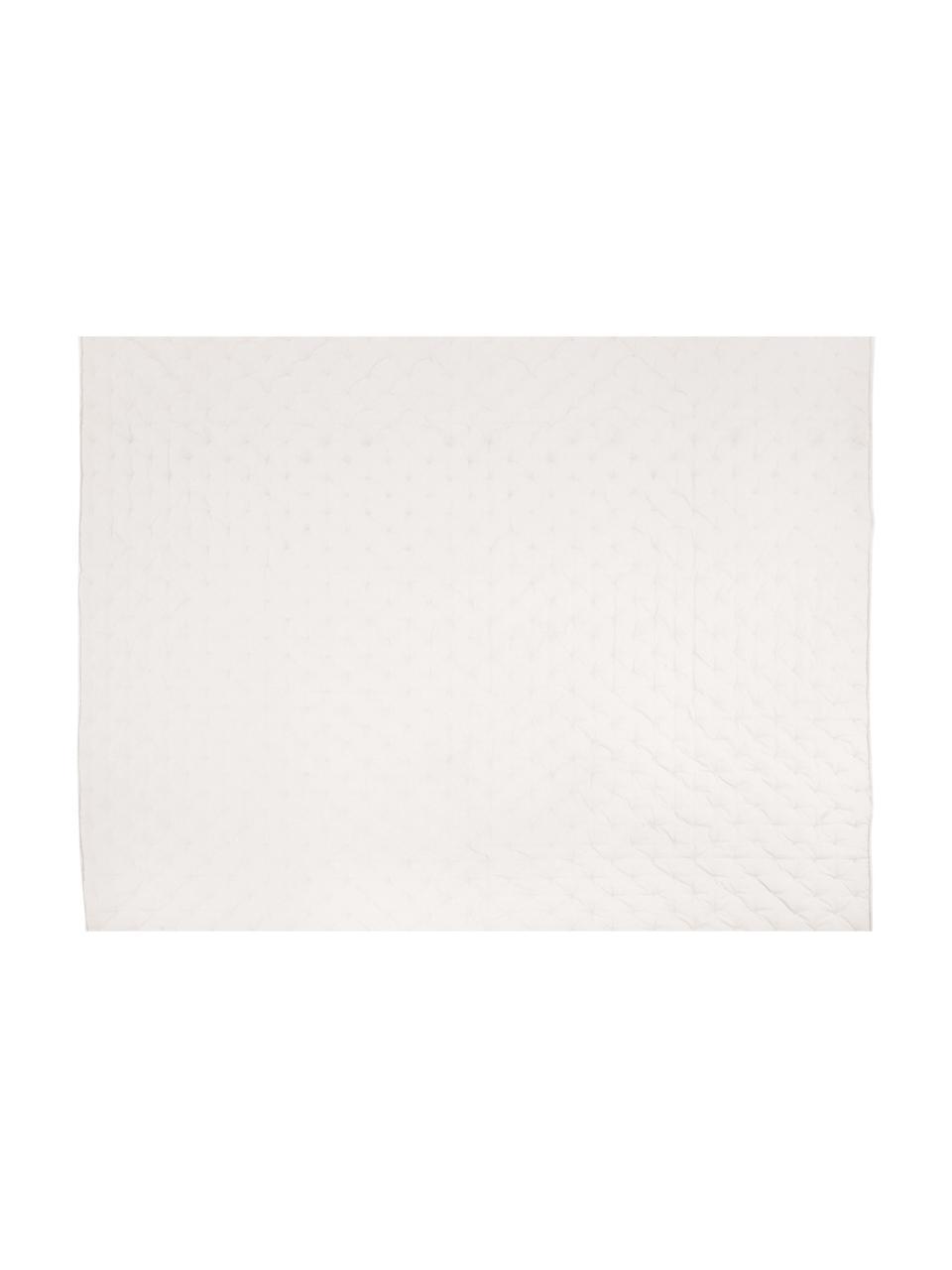 Watowana narzuta z aksamitu Cheryl, 100% bawełna, Szampański, S 240 x D 250 cm