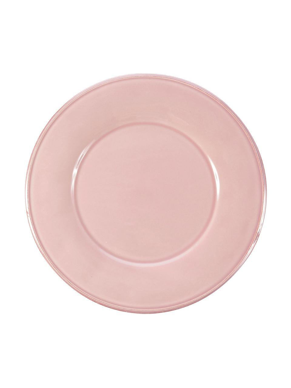 Piatto piano in rosa Constance 2 pz, Terracotta, Rosa, Ø 29 cm