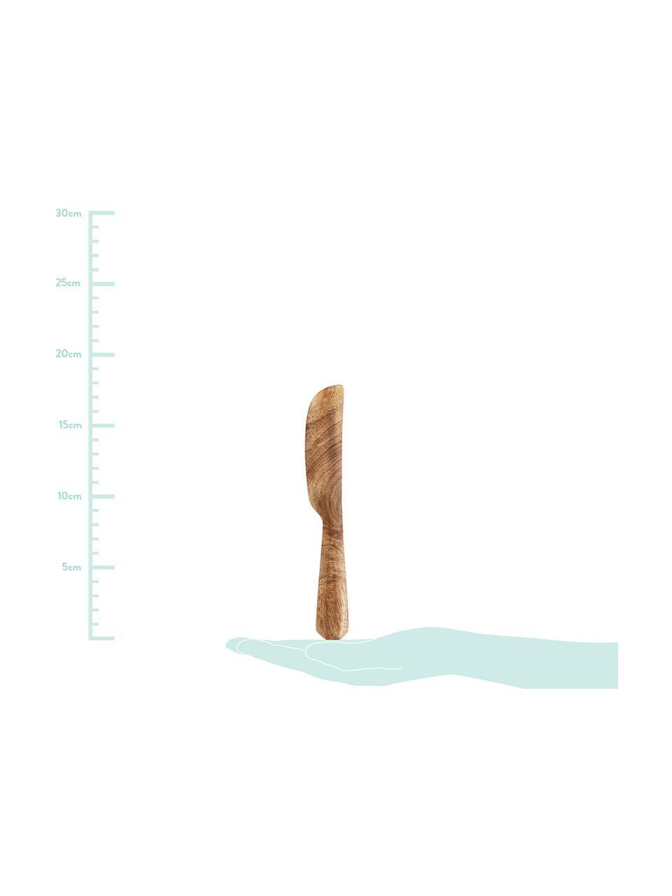 Messer Mali aus Mangoholz, Mangoholz, Beige, L 18 cm