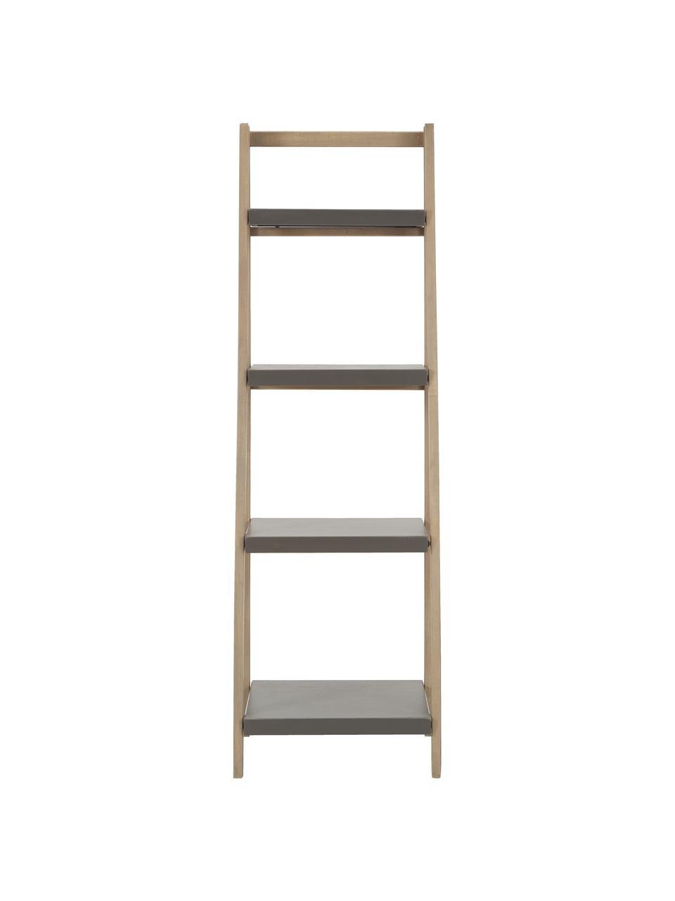 Petite étagère/échelle Lomborg, Bois de chêne, gris