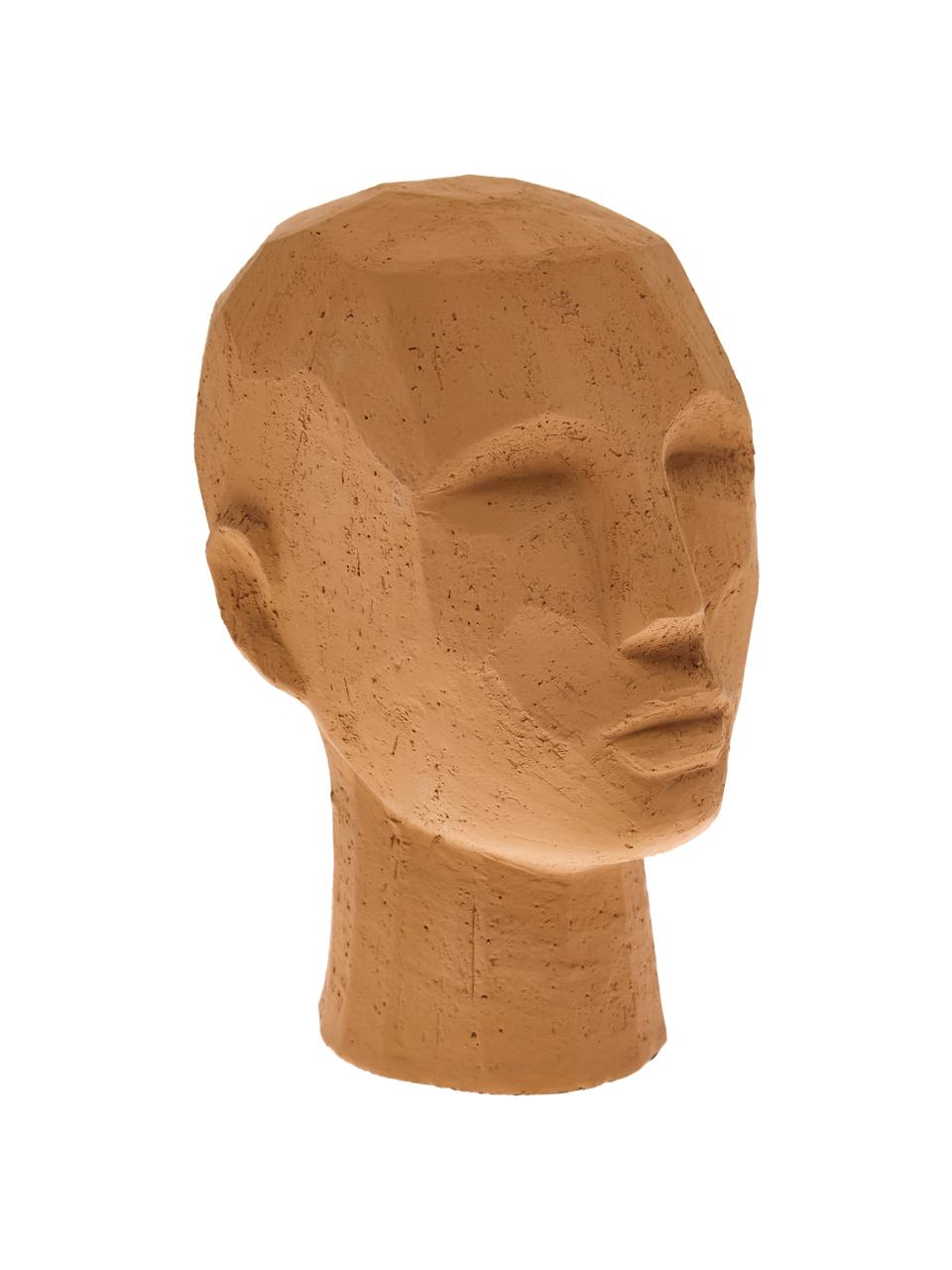 Decoratief object Head, Terracotta, Terracottarood, 18 x 25 cm