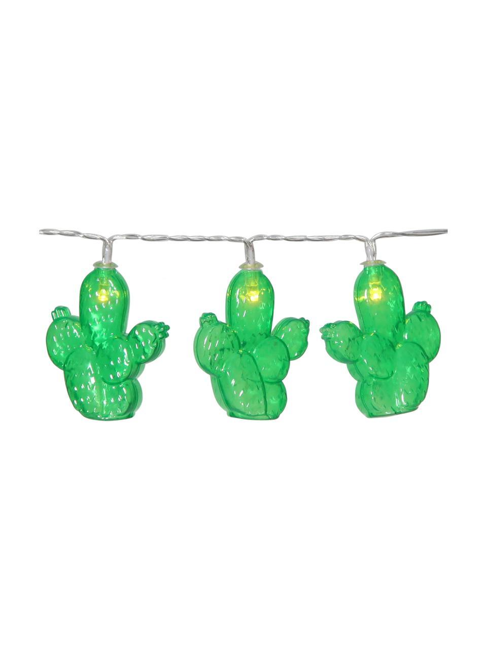 LED lichtslinger Desert, Kunststof, Groen, L 135 cm