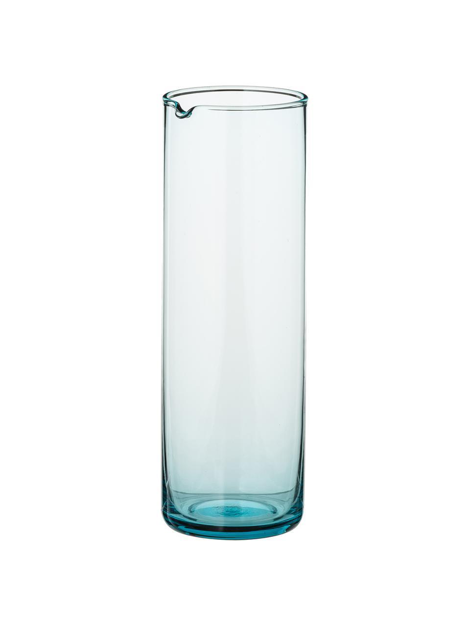 Karaffe Bloom, 1 L, Glas, Türkis, 1 L