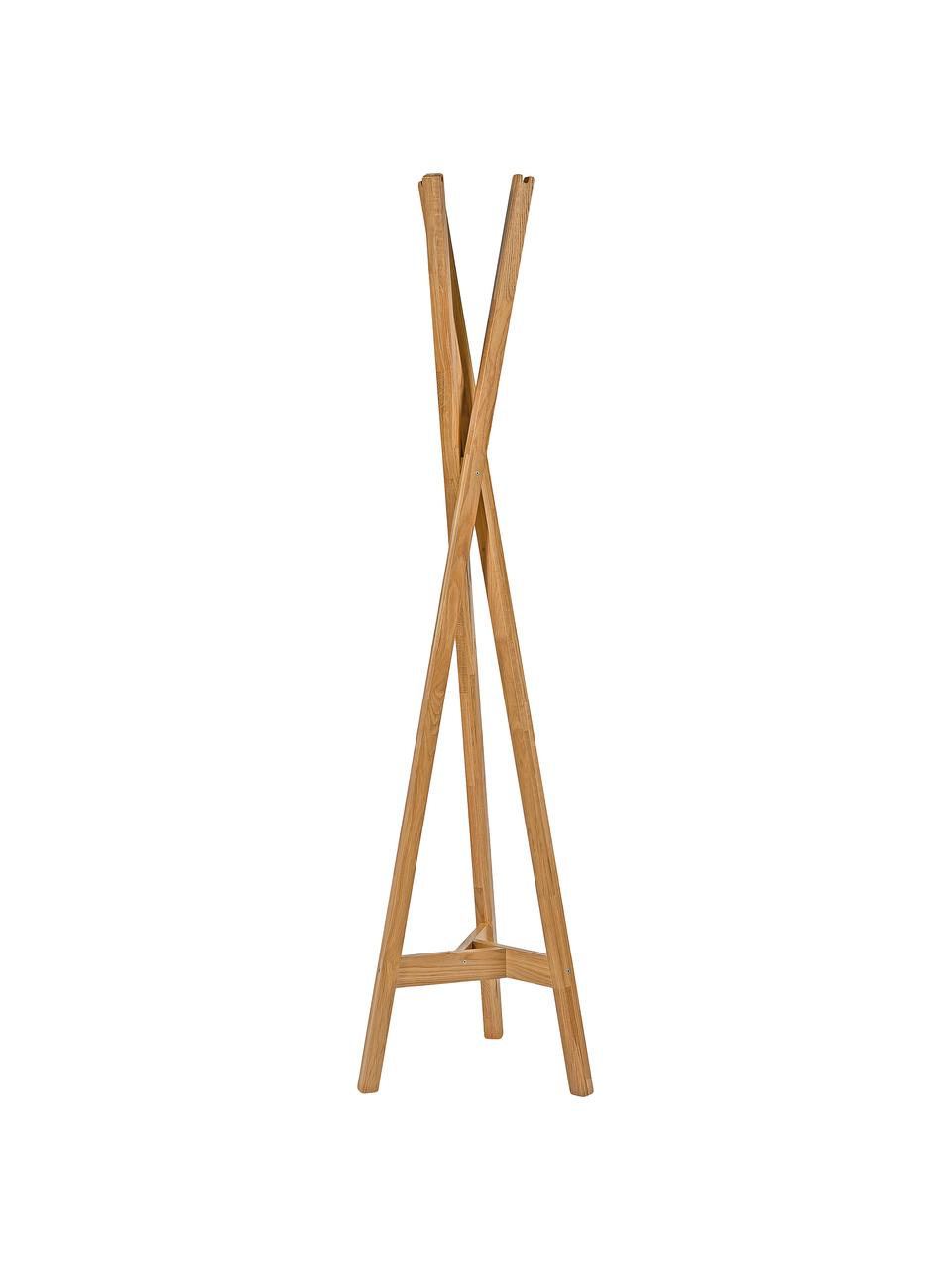 Kleiderständer Clift aus Eichenholz, Eichenholz, massiv, Eichenholz, 35 x 175 cm