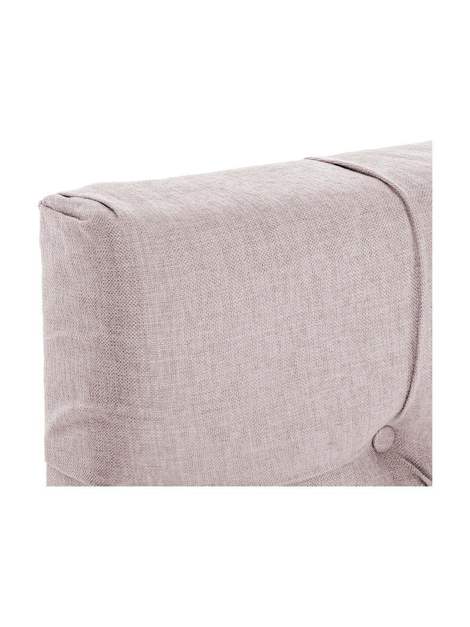 Premium boxspring bed Phoebe, Matras: 7-zones-pocketveringkern , Poten: massief gelakt beukenhout, Oudroze, 180 x 200 cm