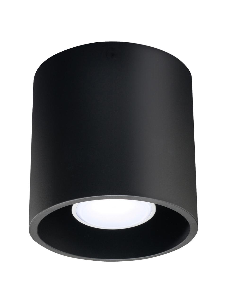 Lampa spot Roda, Czarny, Ø 10 x W 10 cm