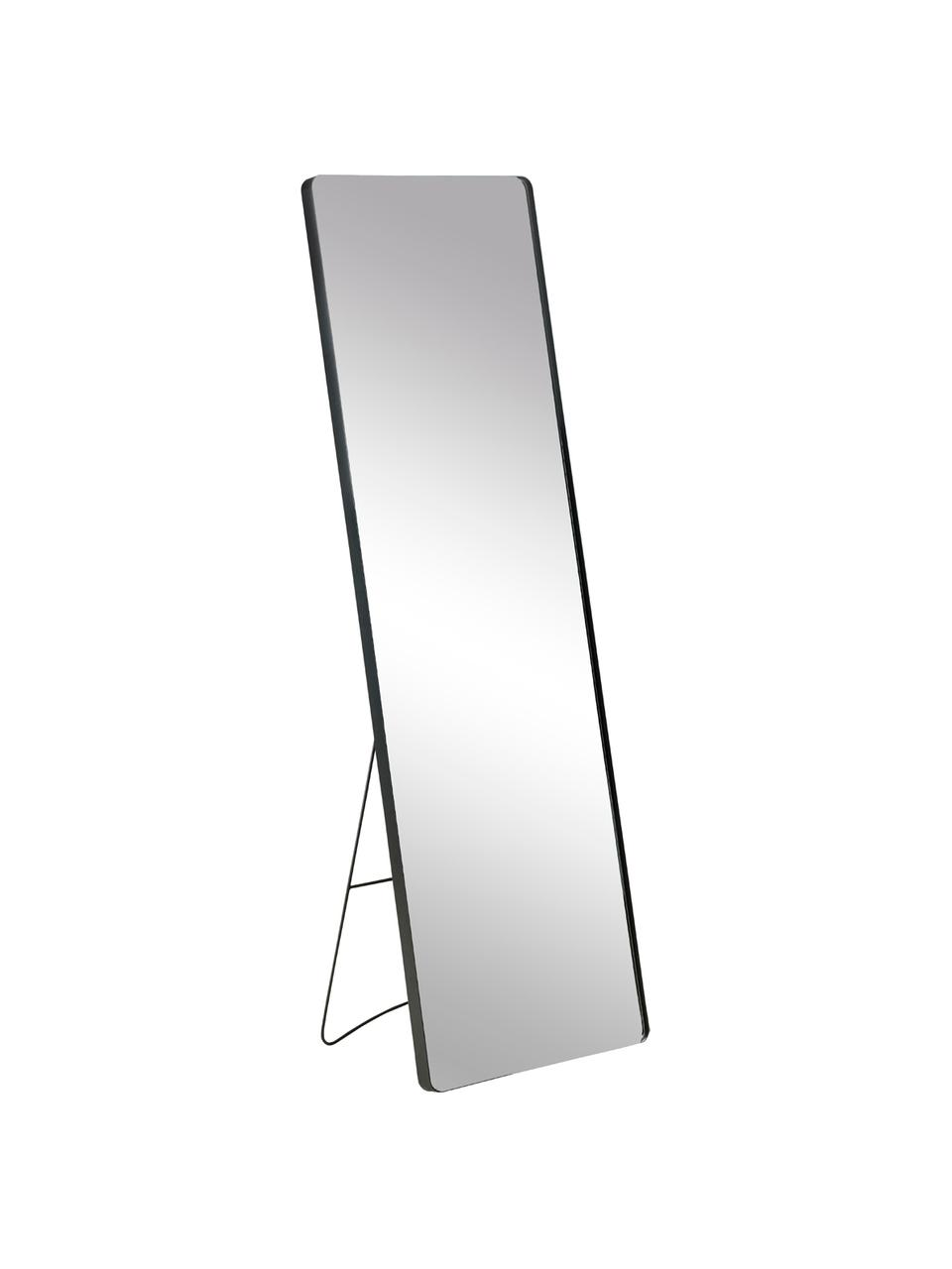 Espejo de pie Stefo, Espejo: cristal, Negro, An 45 x Al 140 cm