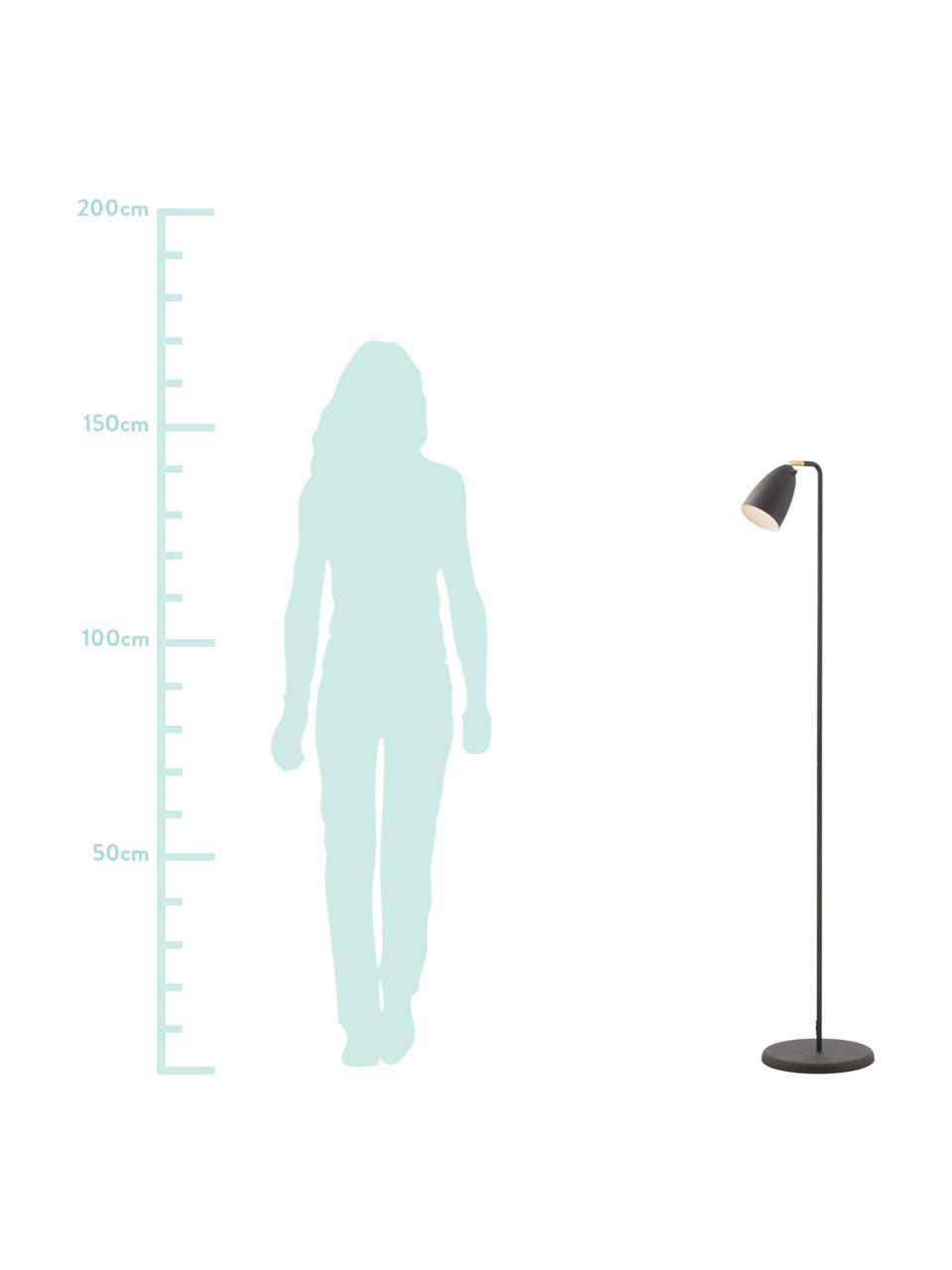 Liseuse LED à hauteur ajustable Nexus 10, Noir