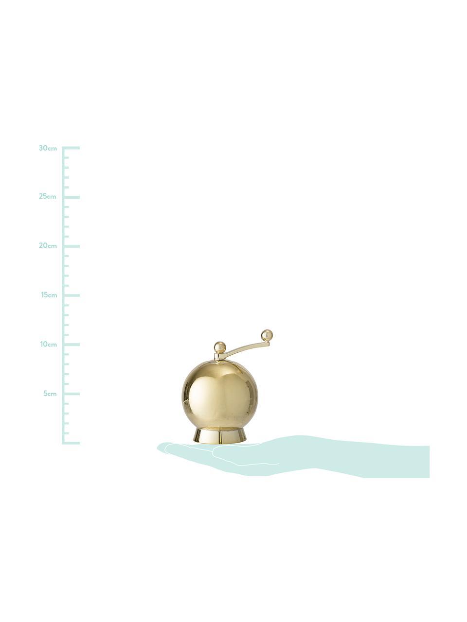 Komplet młynków do soli i pieprzu Quijote, 2 elem., Odcienie złotego, Ø 8 x W 12 cm