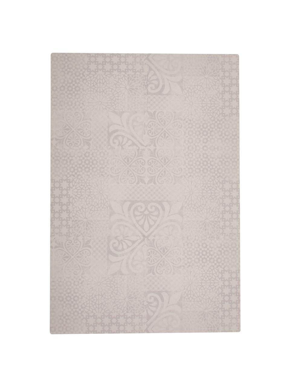 Skládací hrací rohož Persian, 18 dílů, Béžová
