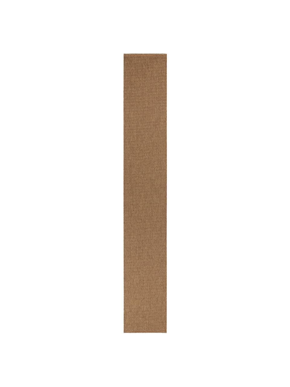 In- & Outdoor-Läufer Nala in Sisal-Optik, Braun, 80 x 500 cm