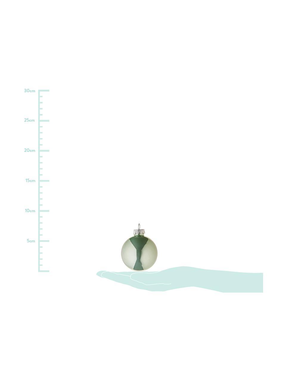 Set palle di natale Evergreen Ø 6 cm, 10 pz, Verde, Ø 6 cm