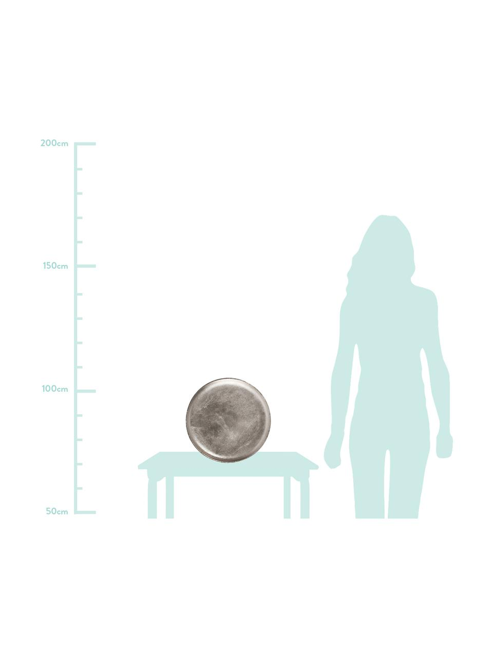 Vassoio decorativo Bintel, Alluminio, Alluminio, Ø 35 cm