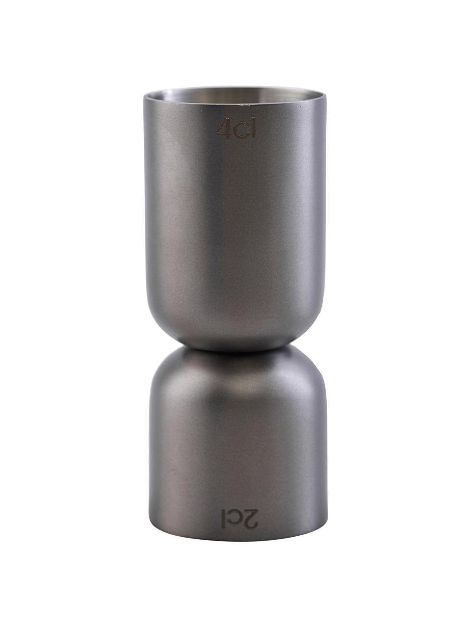 Misurino Gunmetal, Acciaio inossidabile rivestito, Antracite, Ø 4 x Alt. 9 cm