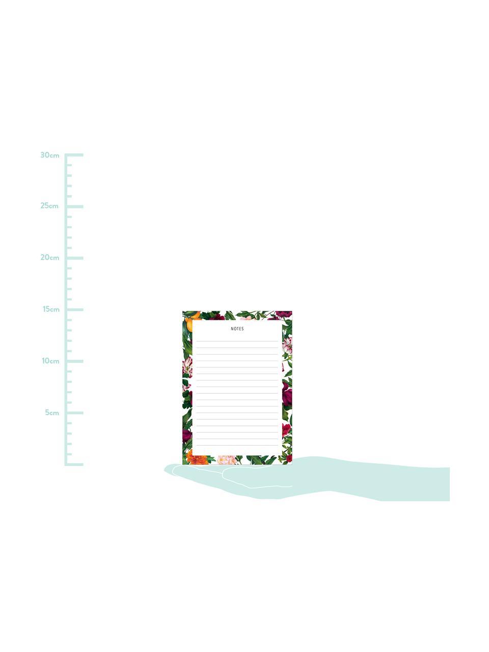 Kołonotatnik The English Garden, Papier, Wielobarwny, S 11 x W 15 cm